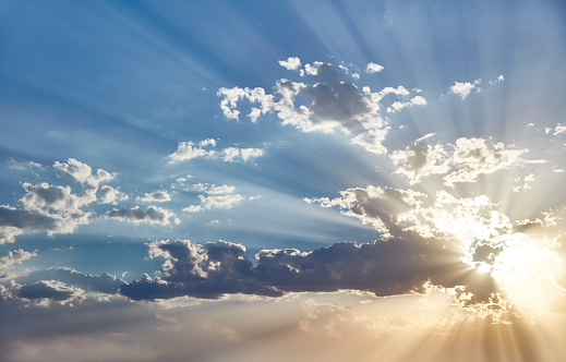 Sunbeam「Sunset behind Clouds」:スマホ壁紙(18)