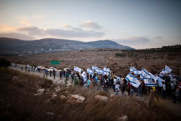 West Bank「Israeli Settlers Stage Show Of Defiance」:写真・画像(18)[壁紙.com]