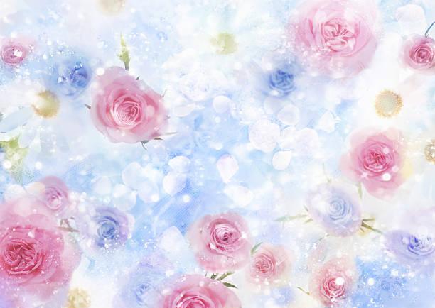 Light Colored Flowers:スマホ壁紙(壁紙.com)