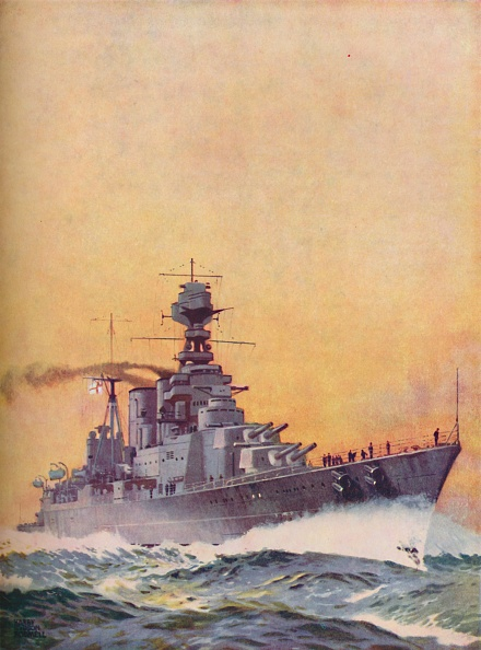 Copy Space「Hms Hood Was Laid Down In 1916 And Completed In 1920」:写真・画像(11)[壁紙.com]