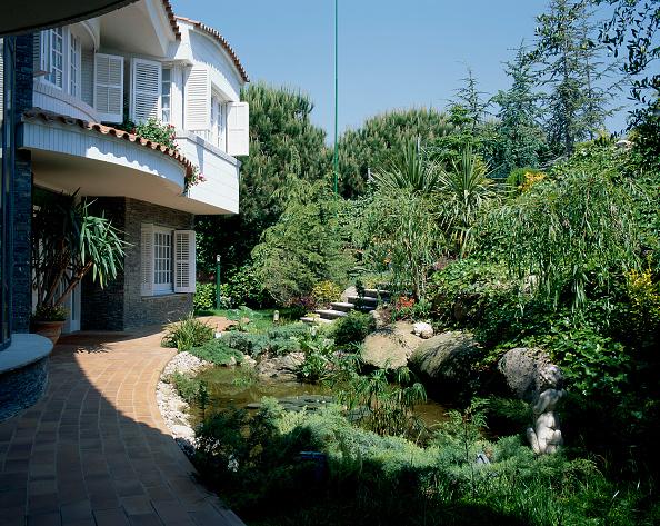 葉・植物「A well landscaped house」:写真・画像(15)[壁紙.com]