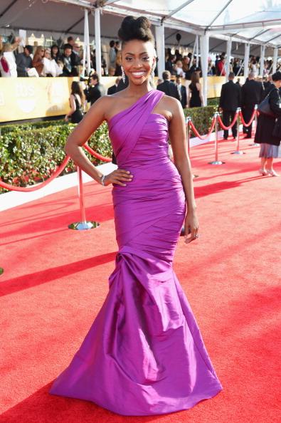 Purple Dress「19th Annual Screen Actors Guild Awards - Red Carpet」:写真・画像(17)[壁紙.com]