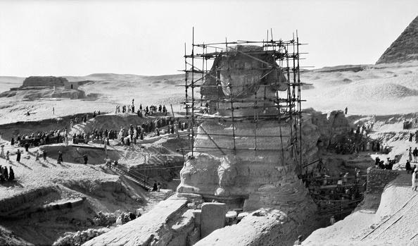 Archaeology「Great Sphinx Of Giza」:写真・画像(16)[壁紙.com]