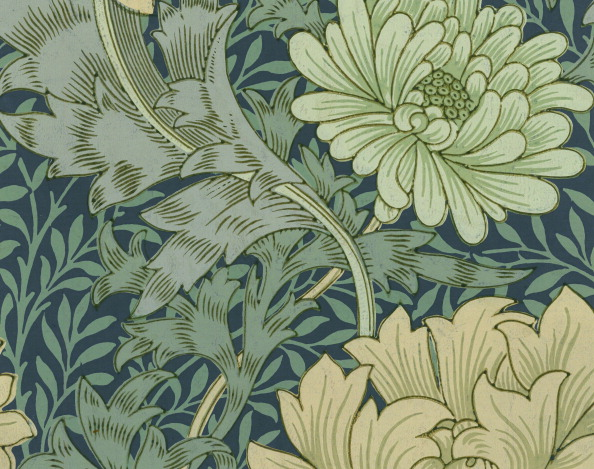 葉・植物「Wallpaper With Chrysanthemum」:写真・画像(9)[壁紙.com]