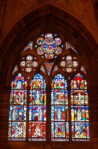 カラフル「Strasbourg - Cathedral Notre-Dame」:スマホ壁紙(15)
