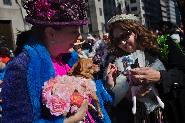 イースター「Annual Easter Parade Held On Manhattan's 5th Avenue」:写真・画像(8)[壁紙.com]