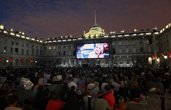 映画のスクリーニング「Somerset House Launches It's Film4 Summer Screen」:写真・画像(4)[壁紙.com]