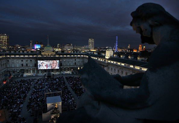 映画のスクリーニング「Somerset House Launches It's Film4 Summer Screen」:写真・画像(3)[壁紙.com]
