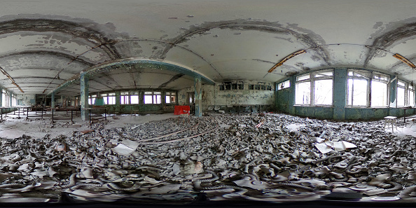 Natural Disaster「Inside The Chernobyl Exclusion Zone In 360 Degree Views」:写真・画像(16)[壁紙.com]