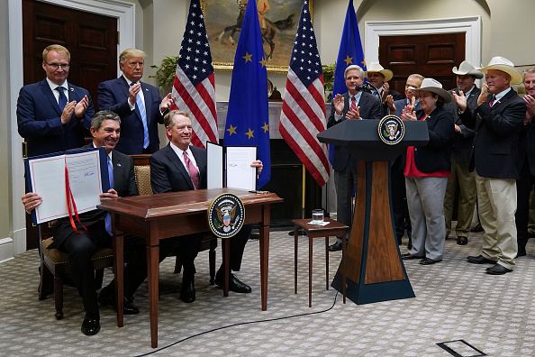 Beef「President Trump Makes An Announcement On E.U. Trade」:写真・画像(13)[壁紙.com]