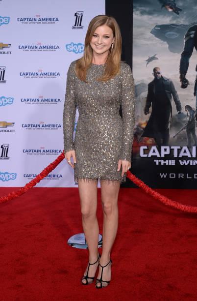 "Premiere Of Marvel's ""Captain America: The Winter Soldier"" - Arrivals:ニュース(壁紙.com)"