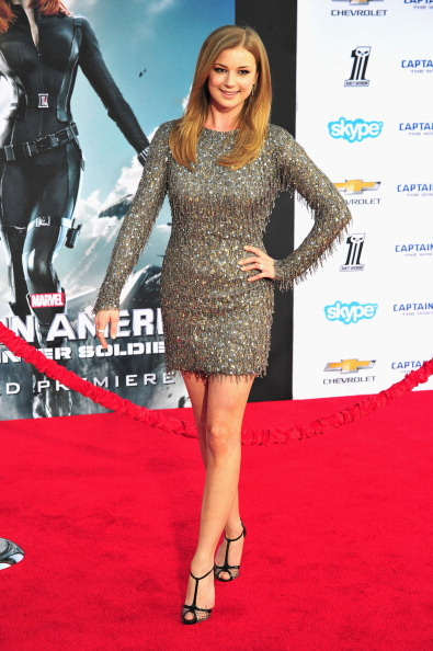 "Emily VanCamp「Premiere Of Marvel's ""Captain America: The Winter Soldier"" - Arrivals」:写真・画像(18)[壁紙.com]"