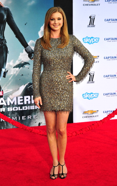 "Emily VanCamp「Premiere Of Marvel's ""Captain America: The Winter Soldier"" - Arrivals」:写真・画像(17)[壁紙.com]"
