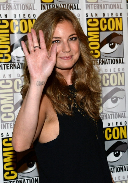 "Emily VanCamp「Marvel's ""Thor: The Dark World,"" Marvel's ""Captain America: The Winter Soldier"" And Marvel's ""Guardians Of The Galaxy"" Red Carpet - Comic-Con International 2013」:写真・画像(13)[壁紙.com]"