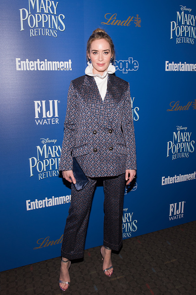 "Emily Blunt「The Cinema Society's Screening Of ""Mary Poppins Returns"" Co-Hosted By Lindt Chocolate」:写真・画像(14)[壁紙.com]"
