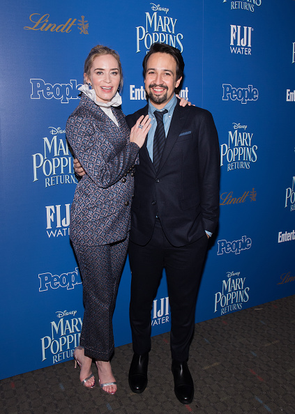 "Seamless Pattern「The Cinema Society's Screening Of ""Mary Poppins Returns"" Co-Hosted By Lindt Chocolate」:写真・画像(5)[壁紙.com]"
