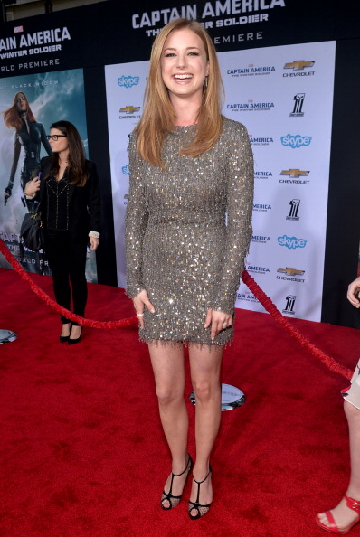 "Emily VanCamp「Marvel's ""Captain America: The Winter Soldier"" Premiere - Red Carpet」:写真・画像(12)[壁紙.com]"