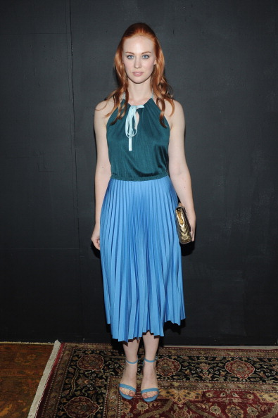 Deborah Ann Woll「Marc Jacobs - Backstage - Mercedes-Benz Fashion Week Spring 2014」:写真・画像(10)[壁紙.com]