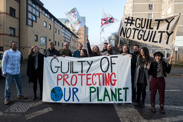 Heathrow Airport「Heathrow Expansion Protesters Appear In Court Charged With Wilful Obstruction」:写真・画像(9)[壁紙.com]