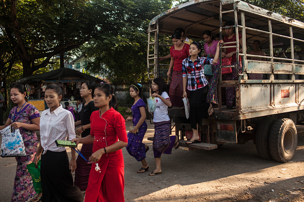 Garment「Myanmar Sees Foreign Investments During Economic Transition」:写真・画像(5)[壁紙.com]