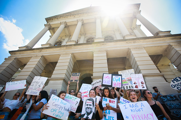 Georgia - US State「Rallies Across U.S. Protest New Restrictive Abortion Laws」:写真・画像(0)[壁紙.com]