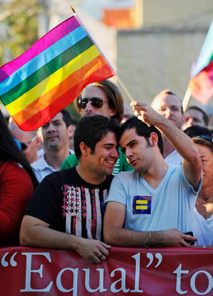 Support「Same-Sex Marriage Supporters In California Celebrate After Judge's Ruling」:写真・画像(17)[壁紙.com]
