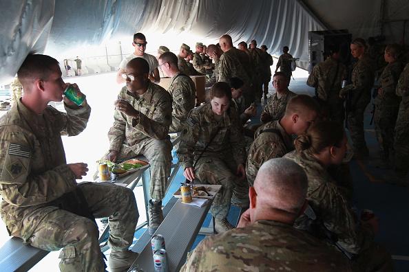 Bagram Air Base「U.S. Soldiers Commemorate 9/11 Anniversary At Bagram Air Field」:写真・画像(16)[壁紙.com]