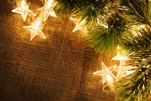 クリスマスカード「クリスマスデコレーション、コピースペース付き」:スマホ壁紙(13)