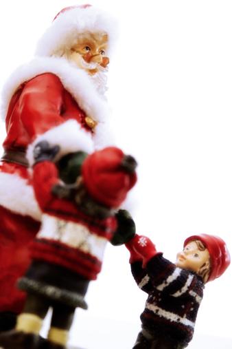 Figurine「Christmas decoration, Santa Claus」:スマホ壁紙(3)