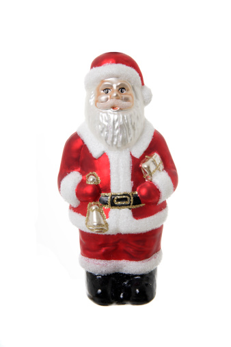 White Hair「Christmas decoration, Santa Claus figurine」:スマホ壁紙(11)