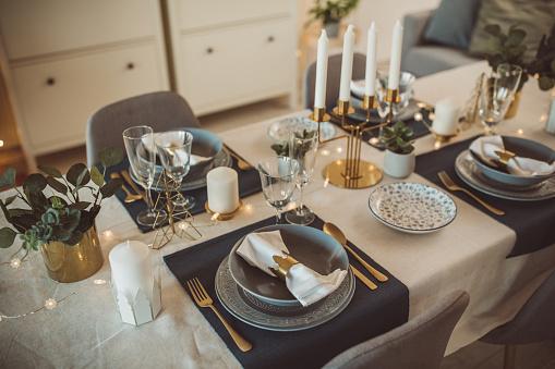 Place Setting「Christmas dinner preparation」:スマホ壁紙(4)