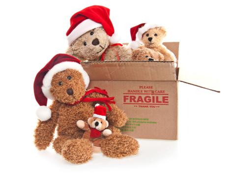 Doll「Christmas Donation Box with Teddy Bears」:スマホ壁紙(19)