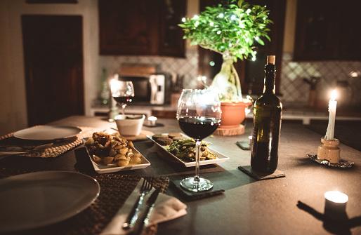 Party - Social Event「christmas dinner at home」:スマホ壁紙(11)