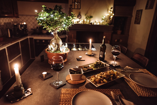 Table For Two「christmas dinner at home」:スマホ壁紙(1)