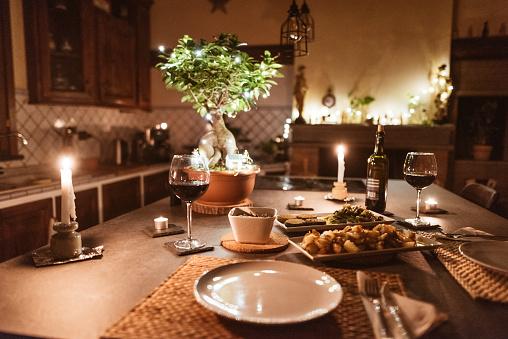 Party - Social Event「christmas dinner at home」:スマホ壁紙(10)