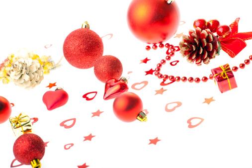 花「Christmas decoration」:スマホ壁紙(14)