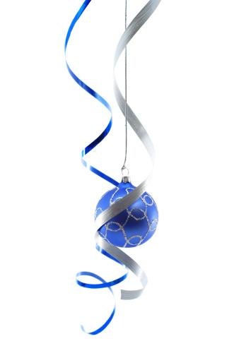 銀色「クリスマスの装飾」:スマホ壁紙(3)