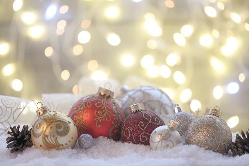 Snowdrift「Christmas decoration and christmas present」:スマホ壁紙(15)