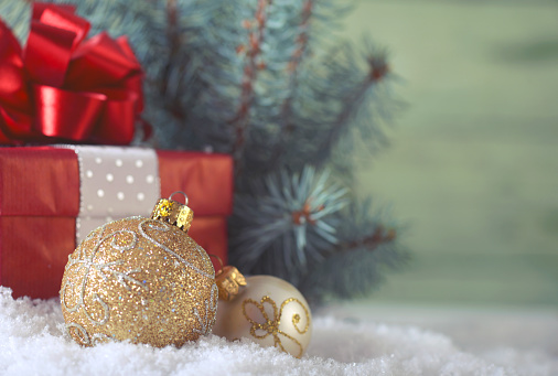 Snowdrift「Christmas decoration and christmas present」:スマホ壁紙(12)