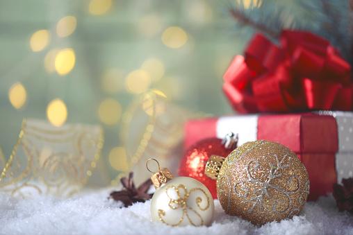 Snowdrift「Christmas decoration and christmas present」:スマホ壁紙(16)