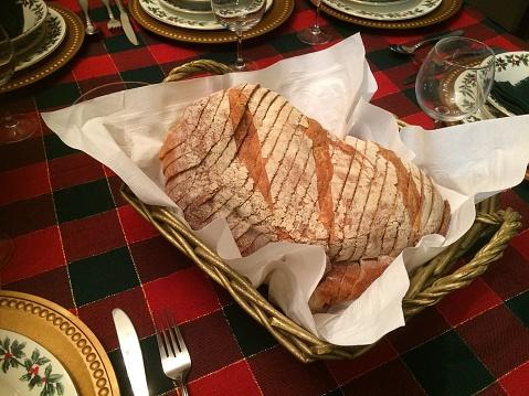 Tartan check「Christmas dinner table.」:スマホ壁紙(1)