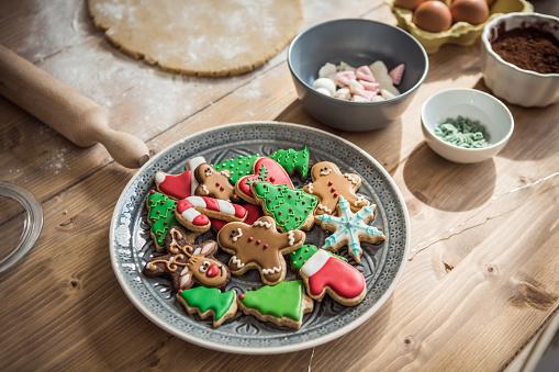 Gingerbread Cookie「Christmas delight」:スマホ壁紙(10)