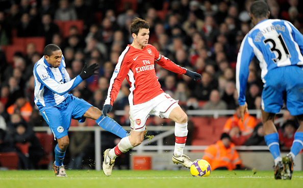 Club Soccer「Arsenal v Wigan Premiership Footall 2008」:写真・画像(17)[壁紙.com]