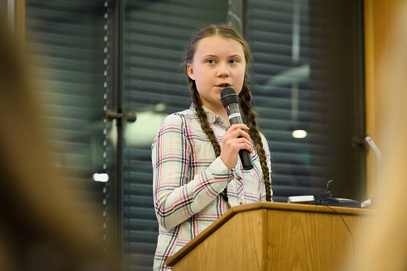 Activist「Greta Thunberg Addresses Parliament Climate Change Group Meeting」:写真・画像(5)[壁紙.com]