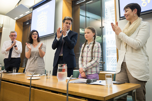 Speech「Greta Thunberg Addresses Parliament Climate Change Group Meeting」:写真・画像(18)[壁紙.com]