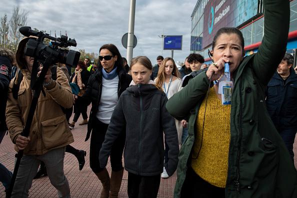 Madrid「Greta Thunberg Arrives At COP25 Climate Conference In Madrid」:写真・画像(13)[壁紙.com]