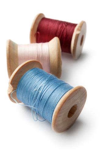 Sewing「Textile: Spools and Sewing Thread」:スマホ壁紙(7)