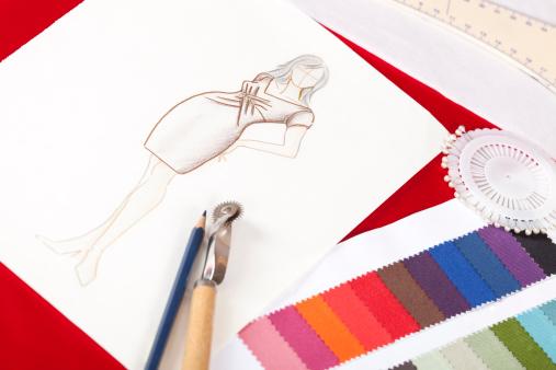 Art Product「fashion designers drawing」:スマホ壁紙(1)