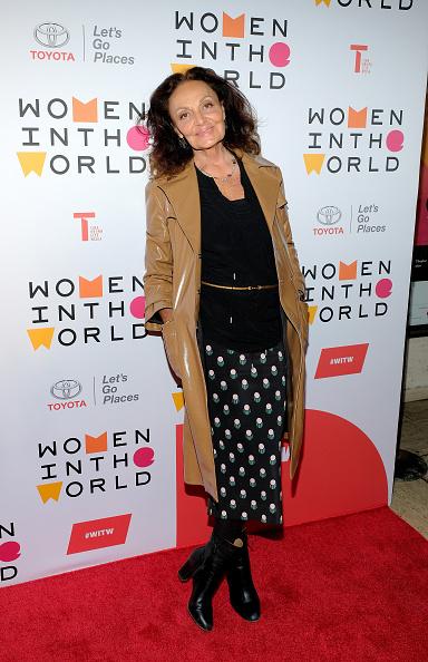 Diane von Fürstenberg - Fashion Designer「2018 Women In The World Summit」:写真・画像(17)[壁紙.com]