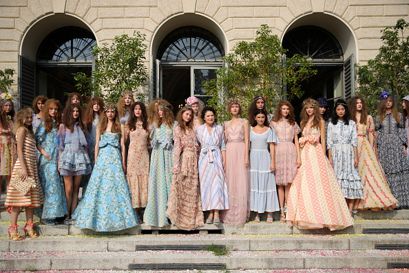 Milan「Luisa Beccaria - Runway - Milan Fashion Week Spring/Summer 2019」:写真・画像(8)[壁紙.com]